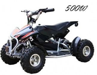EL Mini ATV 500W m/fart begrænser 36V