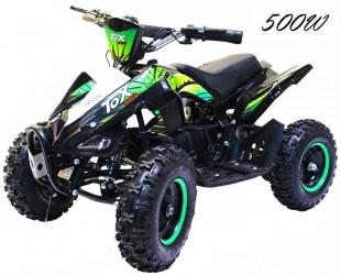 EL Mini ATV GreenPower 500W m/fart begrænser 36V