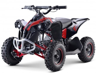 EL Mini ATV Renegade 1000W m/fart begrænser+lys Rød