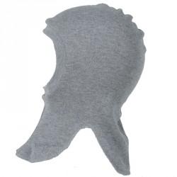 Elefanthue i bomuld fra Joha - 2-lags - Gråmeleret