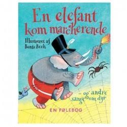 En elefant kom marcherende - Røre/føle sangbog
