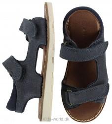 En Fant Sandaler - Navy m. Velcro