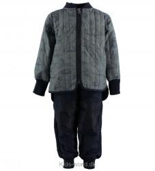 En Fant Termotøj - Blå m. Print