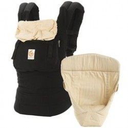 Ergobaby bæresele - Bundle Original - Sort/camel