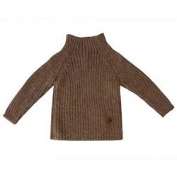 esencia Rib Sweater i Alpaca - Cocoa