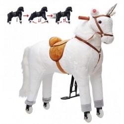 Estrella STOR XXL 90 cm Hest med kan ride MED HJUL by Pink Papaya