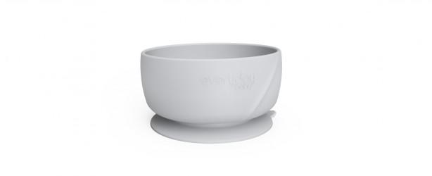 Everyday Baby - Silikone Skål, 1 stk - Lys grå