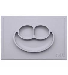 EzPz Happy Mat - Silikone - Lysegrå