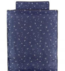 Fabelab Sengetøj - Baby - Mørkeblå m. Mønster