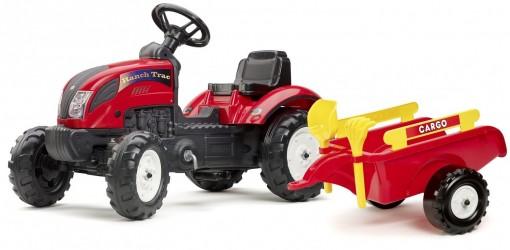 Falk Ranch Traktor med Anhænger