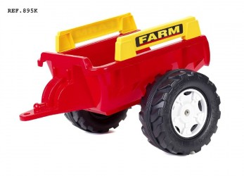 Falk Toys Trailer Farm