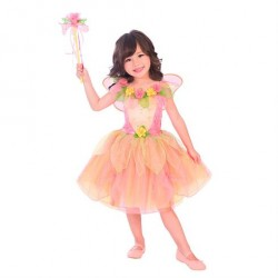 Fe Kostume Peach Sorbet str. 18 måneder - 2 år Travis Designs