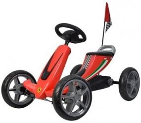 Ferrari gokart pedal gummihjul