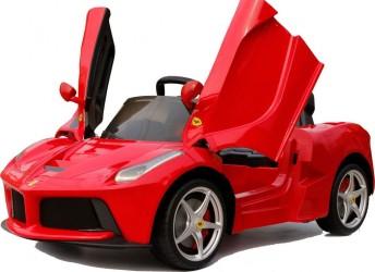Ferrari LaFerrari ELBil til børn 12V m/2.4G Fjernbetjening