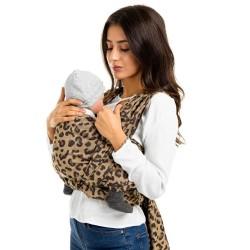 FIDELLA Fastvikle leopard/gold