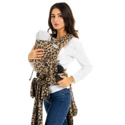 FIDELLA Fly Tai - Mei Tai leopard/gold - Baby