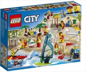 Figursæt - sjov ved stranden - 60153 - LEGO City