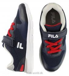 Fila Sko - Firebolt Velcro Low Jr - Navy