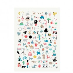 Find KAI Plakat 50x70 cm fra KAI Copenhagen