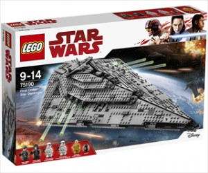 First Order Star Destroyer - 75190 - LEGO Star Wars