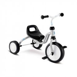 Fitsch lysegrå 3 hjulet