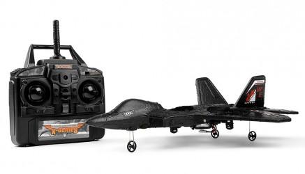 Fjernstyret Fighter Jet 4.5 Kanals F22 Quadcopter 2.4Ghz