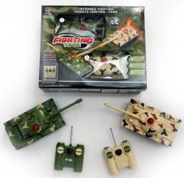 Fjernstyret Tanks Startpakke med 2 stk. IR Kamp tank