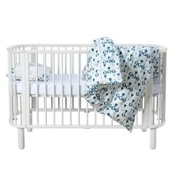 Flexa tremmeseng - Baby - Hvid