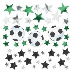 Fodbold konfetti, 34 g