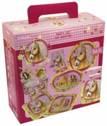 Fødselsdag Party Box - 6-8 personer - Heste (56 dele)