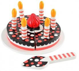 Fødselsdags lagkage m. lys i æske - Magni
