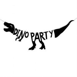 Fødselsdagsbanner Dinosaur Party