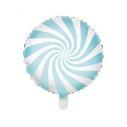 Folieballon Candy Blå