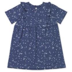 Friends kjole - Blå med prikker