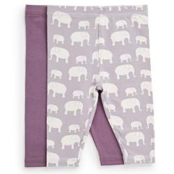 Friends leggings - Lilla/elefant - 2 stk.