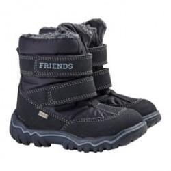Friends Mini Tex støvler - Mørkeblå