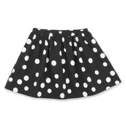 Friends nederdel - Sort med hvide prikker