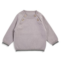 Friends sweater - Lys lilla