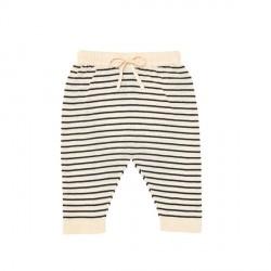 FUB Baby Relax Pants Ecru/Navy SS19