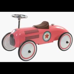 Gåbil Retro Roller Lara Pink