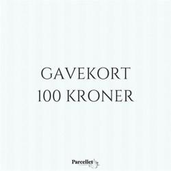 Gavekort på 100 DKK