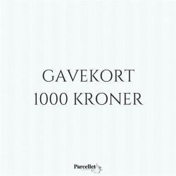 Gavekort på 1000 DKK