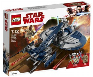 General Grievous kampspeeder - 75199 - LEGO Star Wars