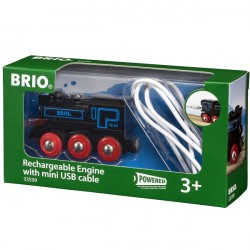 Genopladeligt lokomotiv, m/mini USB kabel - 33599 - BRIO