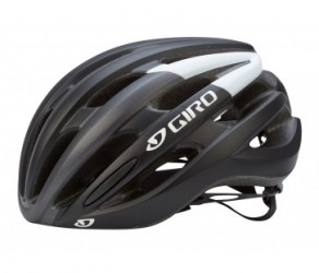 Giro Foray - Cykelhjelm - Str. 51-55 cm Mat Sort/Hvid