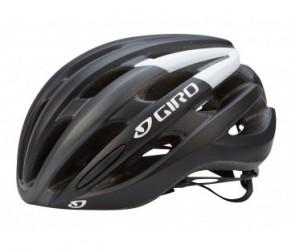 Giro Foray cykelhjelm - Str. 55-59 cm Mat Sort/Hvid