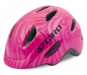Giro Scamp - Cykelhjelm - Str. 49-53 cm - Pink Swirl