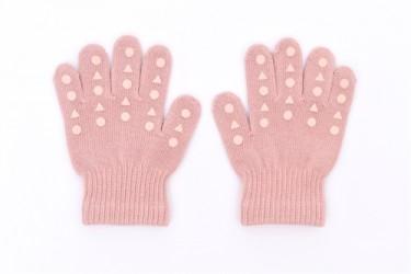 Gobabygo Grib Gloves - Dusty Rose