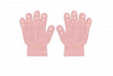 GOBABYGO Grip Gloves - 2-3 år - Dusty Rose Vanter