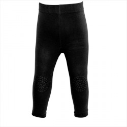 GoBabyGo Leggings, Sort str. 6-12 mdr.